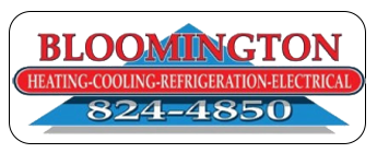 Bloomington Heating & Cooling Logo